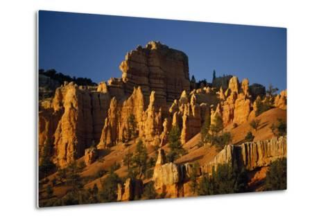 Exposed Orange Red Limestone in Dixie National Forest Near Bryce Canyon-Macduff Everton-Metal Print