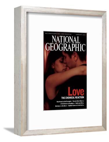 Cover of the February, 2006 National Geographic Magazine-Pablo Corral Vega-Framed Art Print