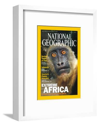 Cover of the March, 2001 National Geographic Magazine-Michael Nichols-Framed Art Print