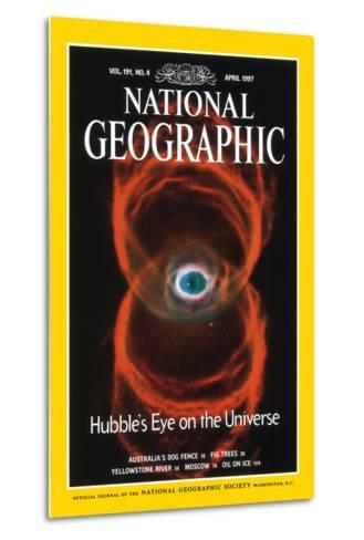 Cover of the April, 1997 National Geographic Magazine--Metal Print