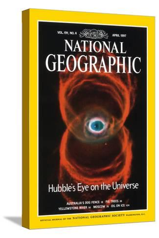 Cover of the April, 1997 National Geographic Magazine--Stretched Canvas Print