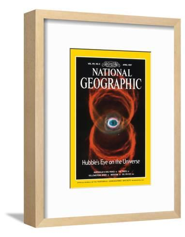 Cover of the April, 1997 National Geographic Magazine--Framed Art Print