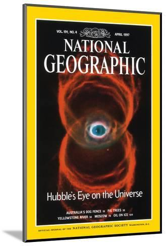 Cover of the April, 1997 National Geographic Magazine--Mounted Photographic Print