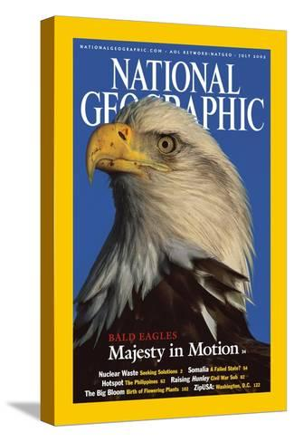 Cover of the July, 2002 National Geographic Magazine-Norbert Rosing-Stretched Canvas Print