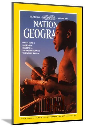 Cover of the October, 1997 National Geographic Magazine-Chris Johns-Mounted Photographic Print