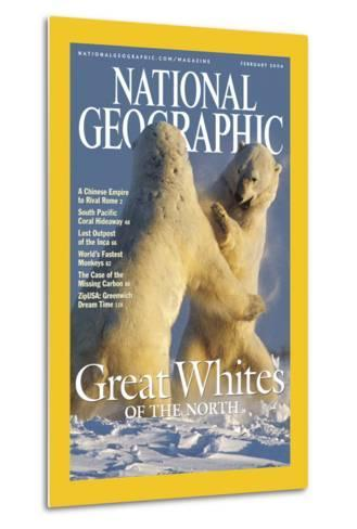 Cover of the February, 2004 National Geographic Magazine-Norbert Rosing-Metal Print
