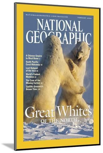 Cover of the February, 2004 National Geographic Magazine-Norbert Rosing-Mounted Photographic Print
