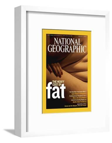 Cover of the August, 2004 National Geographic Magazine-Karen Kasmauski-Framed Art Print