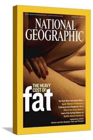 Cover of the August, 2004 National Geographic Magazine-Karen Kasmauski-Stretched Canvas Print