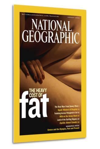 Cover of the August, 2004 National Geographic Magazine-Karen Kasmauski-Metal Print