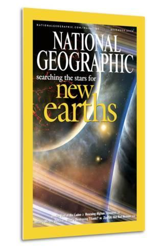 Cover of the December, 2004 National Geographic Magazine-Dana Berry-Metal Print