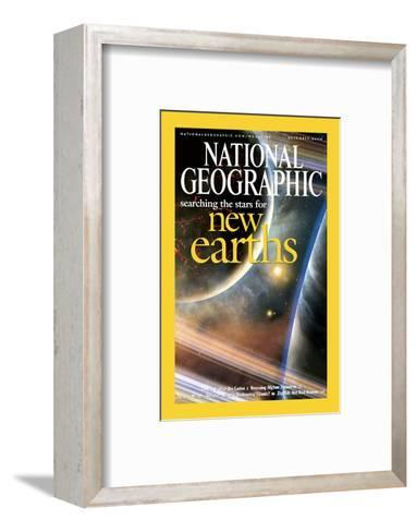 Cover of the December, 2004 National Geographic Magazine-Dana Berry-Framed Art Print