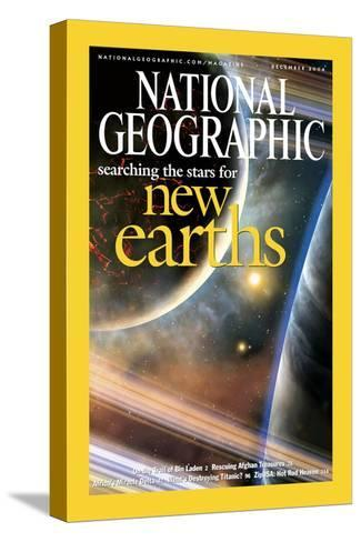 Cover of the December, 2004 National Geographic Magazine-Dana Berry-Stretched Canvas Print
