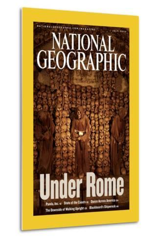 Alternate Cover of the July, 2006 National Geographic Magazine-Stephen Alvarez-Metal Print