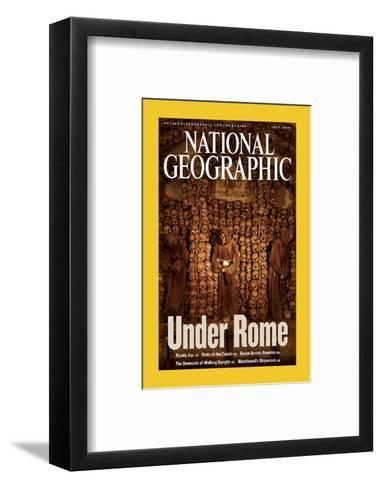 Alternate Cover of the July, 2006 National Geographic Magazine-Stephen Alvarez-Framed Art Print