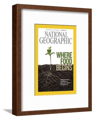 Cover of the September, 2008 National Geographic Magazine-Mark Thiessen-Framed Art Print