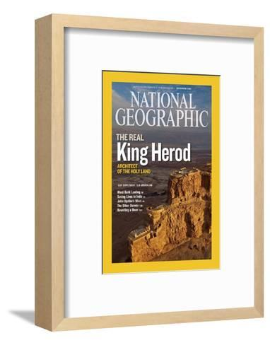 Cover of the December, 2008 National Geographic Magazine-Michael Melford-Framed Art Print