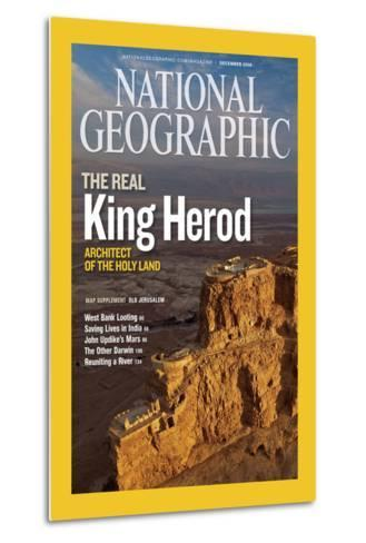 Cover of the December, 2008 National Geographic Magazine-Michael Melford-Metal Print