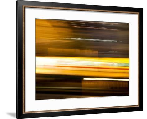 You'Re a Blur-Felipe Rodriguez-Framed Art Print