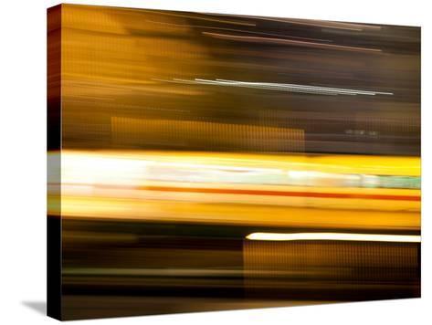 You'Re a Blur-Felipe Rodriguez-Stretched Canvas Print