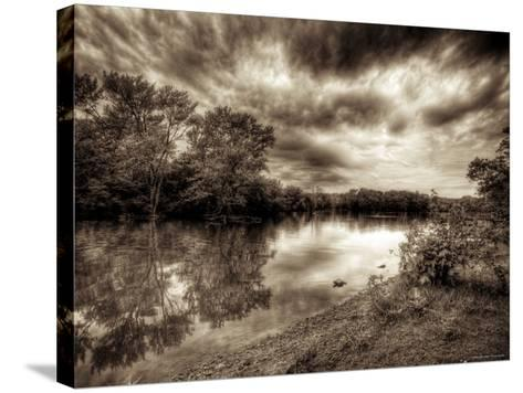 Fox River-Stephen Arens-Stretched Canvas Print