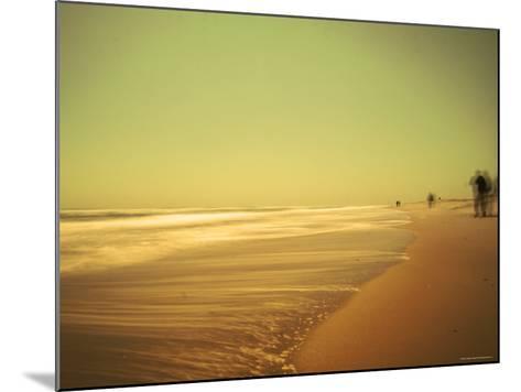 Golden Beach Landscape-Jan Lakey-Mounted Photographic Print