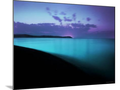 Glowing Turquoise Blue Waters-Jan Lakey-Mounted Photographic Print