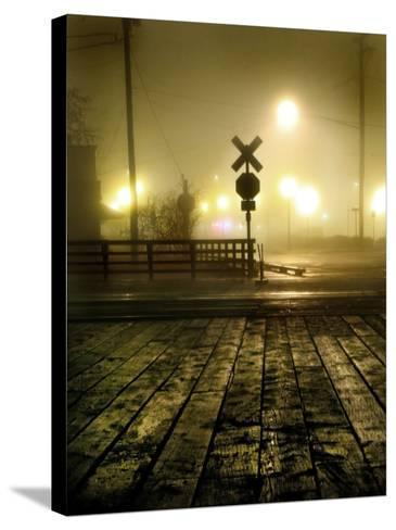 Foggy Night-Jody Miller-Stretched Canvas Print