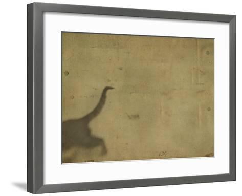 Blurred Back Half of Cat-Mia Friedrich-Framed Art Print