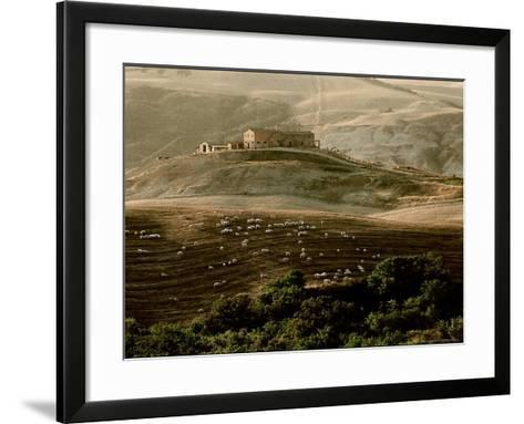 Late Afternoon in Tuscany-Monika Brand-Framed Art Print