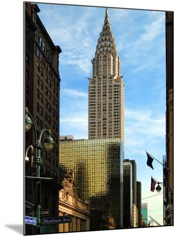Chrysler Building and Madison Avenue, Manhattan, New York City-Sabine Jacobs-Mounted Photographic Print