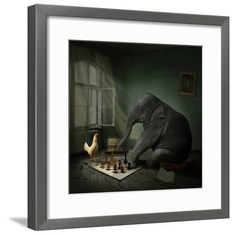 Teklinks-Lynne Davies-Framed Art Print