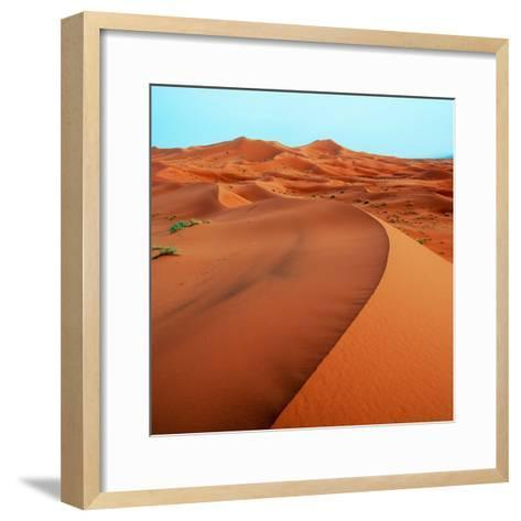 Merzouga Dunes-Steven Boone-Framed Art Print