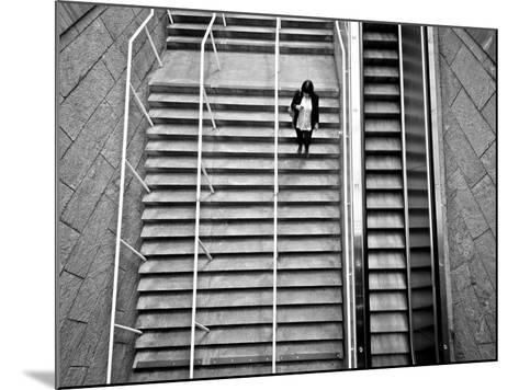 Up Ad Down-Sharon Wish-Mounted Photographic Print