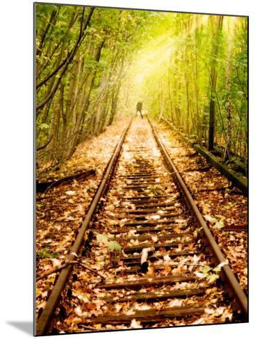 Light at the End of the Line-Nathan Wright-Mounted Photographic Print