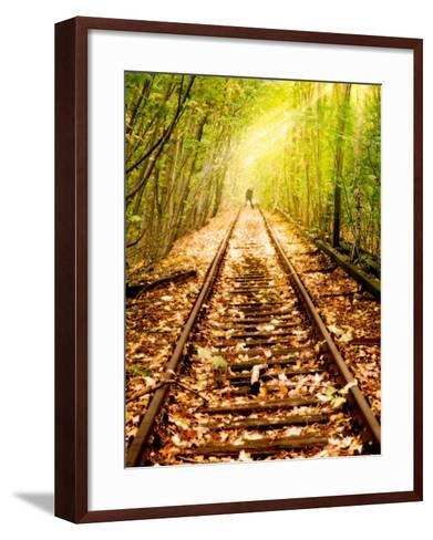 Light at the End of the Line-Nathan Wright-Framed Art Print