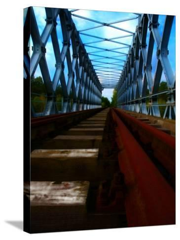 Rail Bridge-Nathan Wright-Stretched Canvas Print