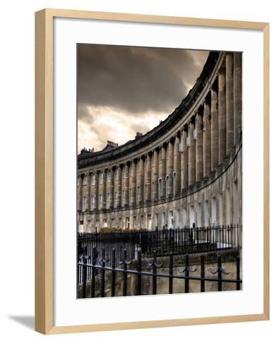 The Royal Cresecent in Bath, England-Tim Kahane-Framed Art Print