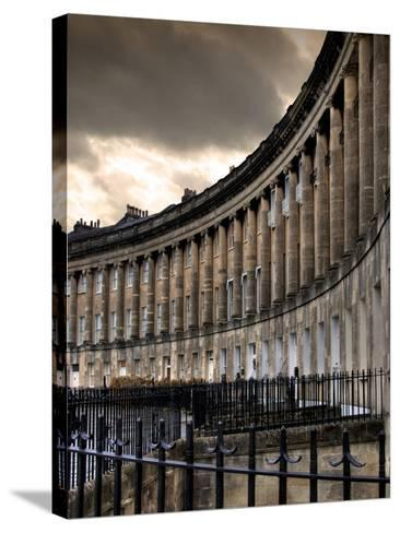 The Royal Cresecent in Bath, England-Tim Kahane-Stretched Canvas Print