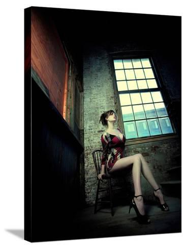 Sultry-Winter Wolf Studios-Stretched Canvas Print