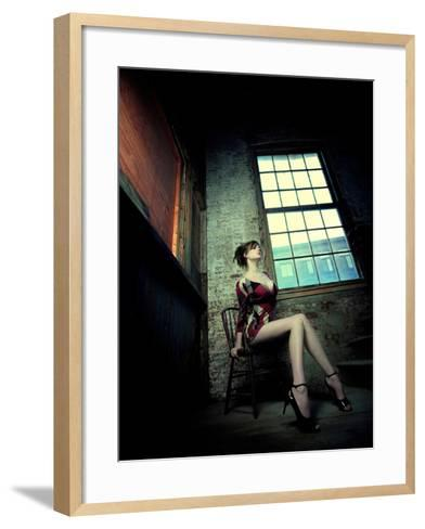 Sultry-Winter Wolf Studios-Framed Art Print
