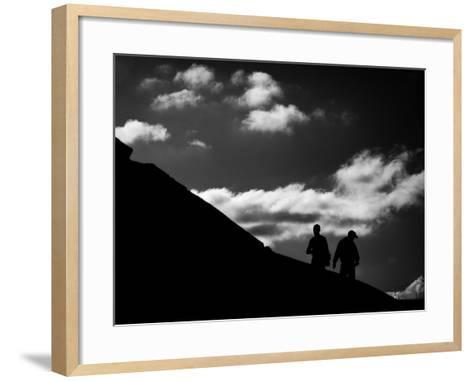 Uphill-Sharon Wish-Framed Art Print