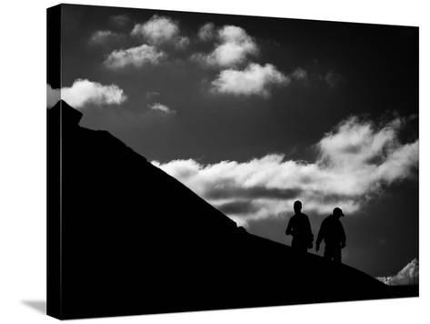 Uphill-Sharon Wish-Stretched Canvas Print