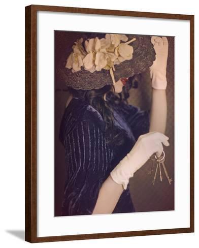Vintage Kisses-Winter Wolf Studios-Framed Art Print