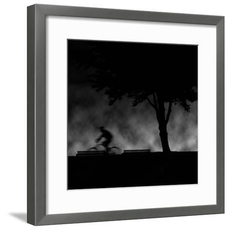 Ride into Night-Sharon Wish-Framed Art Print