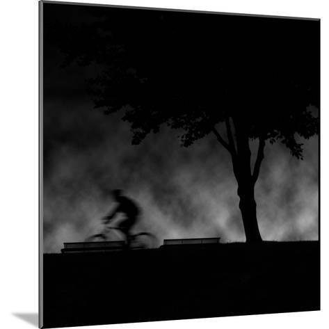 Ride into Night-Sharon Wish-Mounted Photographic Print