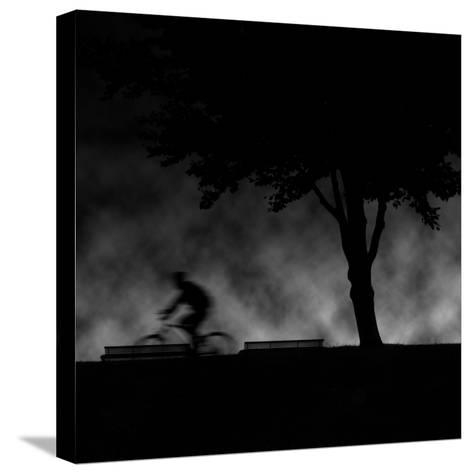 Ride into Night-Sharon Wish-Stretched Canvas Print