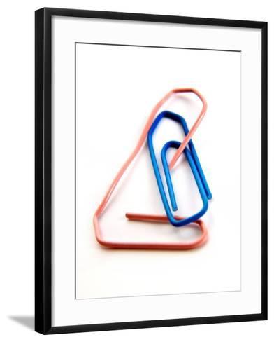 Paperclips-Bernard Jaubert-Framed Art Print