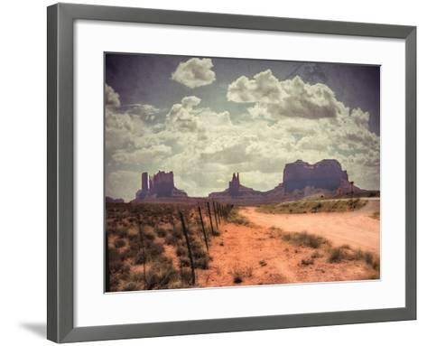 Monument Valley-Andrea Costantini-Framed Art Print