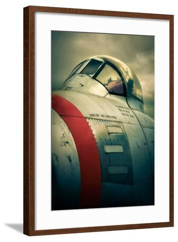 Sabre Cockpit-David Bracher-Framed Art Print